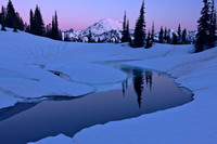 Mount Rainier and Upper Tipsoo Lake
