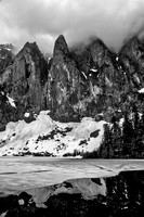 Mount Index and Lake Serene
