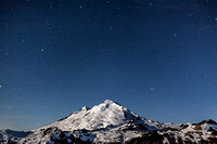 Mount Baker Beneath the Stars