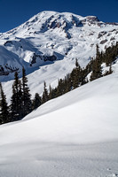 Mount Rainier Winter, Skyline Trail