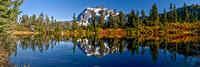 Mount Shuksan and Highwood Lake