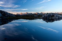 Mountain Tarn Reflection
