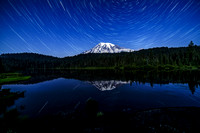 Reflection Lake By Moonlight