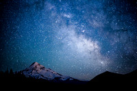 Mount Hood, Lost Lake, Milky Way