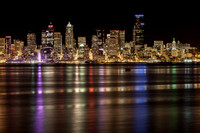 Seattle From Alki Point