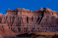 Twilight at the Badlands