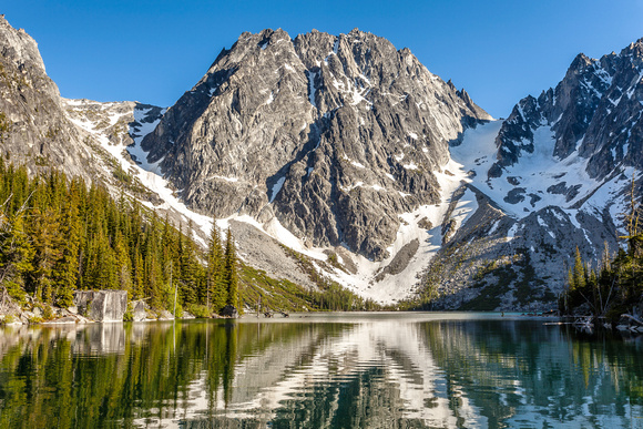 Dragontail Peak and Colchuck Lake