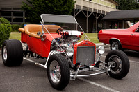 Orange 1923 Ford T Bucket