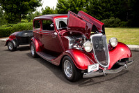 Candy Brandy 1934 Ford Model 40 2 Door Sedan